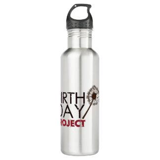 Die Geburtstags-Projekt-Logo-Wasser-Flasche Edelstahlflasche