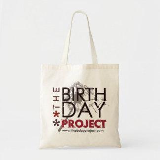 Die Geburtstags-Projekt-Tasche Tragetasche