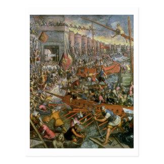 Die Gefangennahme von Konstantinopele im Jahre Postkarte