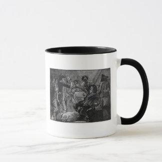Die Gefangennahme von Wolfe-Ton im Jahre 1798 Tasse