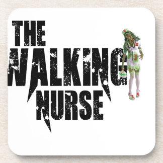 Die gehende Krankenschwester Untersetzer