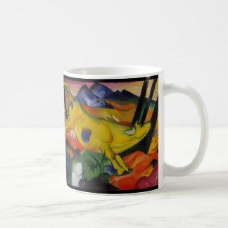 Die gelbe Kuh Franz Marc Kaffeetassen