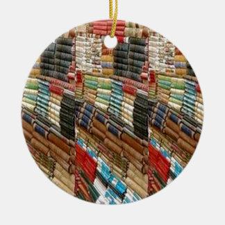 Die gelesene BÜCHER Bücherwurm-Bibliothek lernen Keramik Ornament