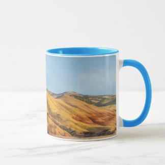 Die gemalten Hügel in den John-Tagesfossil-Betten Tasse