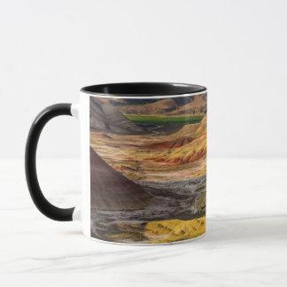 Die gemalten Hügel in den John-Tagesversteinerten Tasse