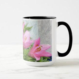 Die gemalten Lilien Tasse