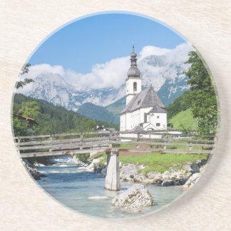 Die Gemeindekirche von Ramsau Untersetzer