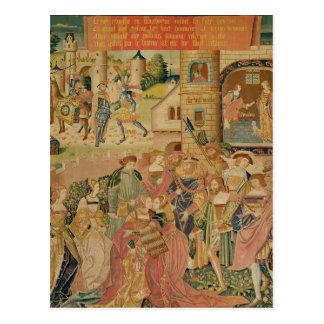 Die Geschichte von Perseus, 15.-1. Jahrhundert Postkarte