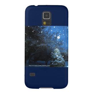 Die Geschichten-Samsungs S5 des Winters Fall mit Samsung S5 Cover