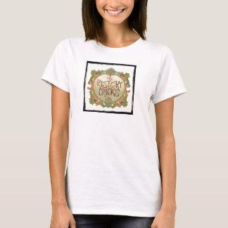 Die Geschichtsküken-Logo-Shirts, kleinere Grafik T-Shirt