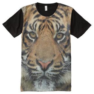 Die Geschöpf-Tiger-Druck alles Gottes T-Shirt Mit Komplett Bedruckbarer Vorderseite