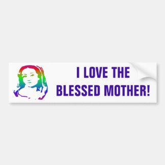 Die gesegnete Jungfrau Mary Autoaufkleber