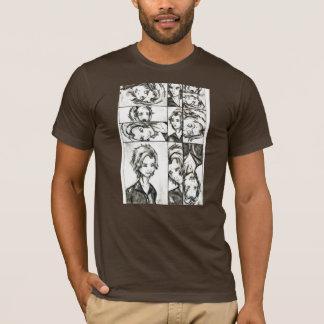 Die Gesichter von Loki T-Shirt