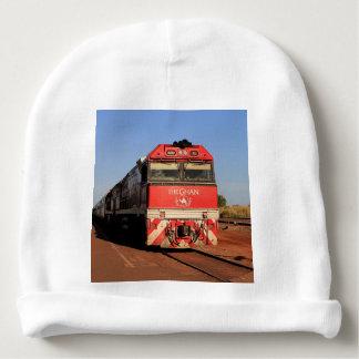 Die Ghan Zuglokomotive, Darwin Babymütze