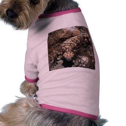 Die Gila-Krustenechse-T-Stück des Hundes Hundbekleidung