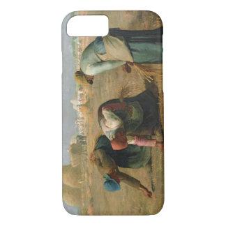 Die Gleaners, 1857 iPhone 8/7 Hülle