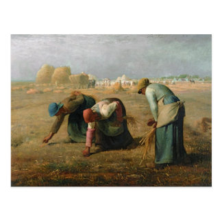 Die Gleaners, 1857 Postkarte