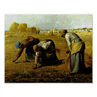 Die Gleaners durch Jean-Francois-Hirse Poster