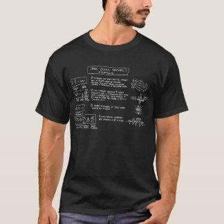Die Gleichungs-T - Shirt DUNKELHEIT des Maxwells