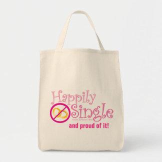 Die glücklich Single-Sammlung durch MDillon Entwür Einkaufstasche