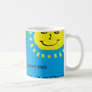 Die glückliche Baum-Tasse Tasse