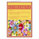 Die Glückwünsche der Diva auf Ihrer Ruhestands-Kar Karten