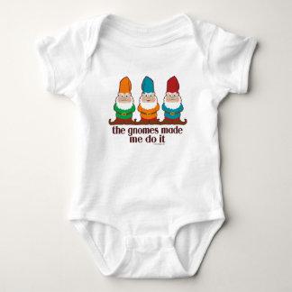 Die Gnomes ließen mich es tun Baby Strampler