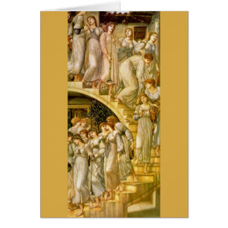 """Die goldene Treppe"", durch Edward Burne-Jones Karte"