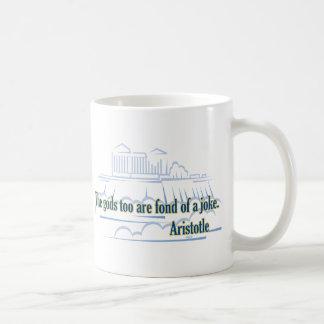 Die Götter sind auch vernarrt Kaffeetasse