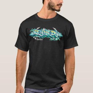 Die Graffiti der Männer: Kennedy Streetwear T-Shirt