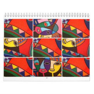 Die Grafiken von Egbune Cheche Harold Kalender