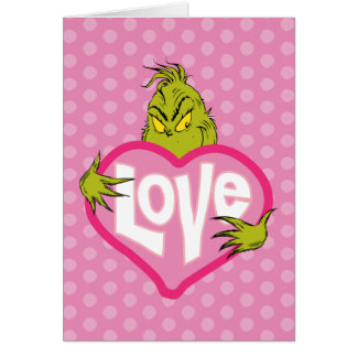 Die Grinch | Liebe Grußkarte
