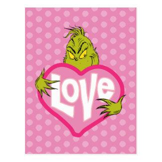 Die Grinch | Liebe Postkarte