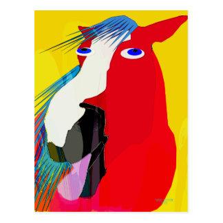 Die große Gegähne-Wunderliche Pferdesammlung Postkarte