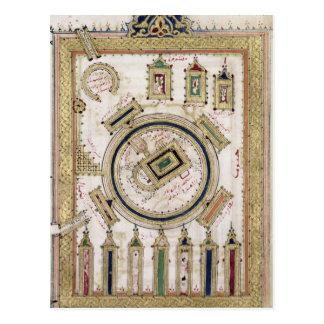 Die große Moschee des Mekkas Postkarte