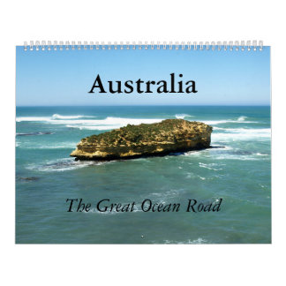 Die große Ozean Straße Australiens - Kalender