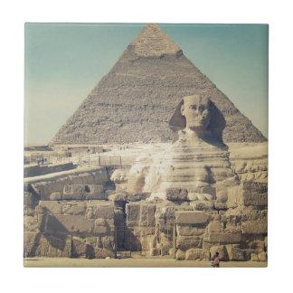Die große Sphinx von Giseh Fliese