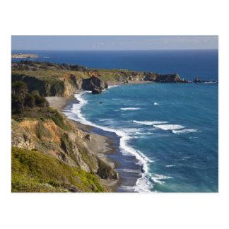 Die große Sur Küstenlinie in Kalifornien, USA Postkarte