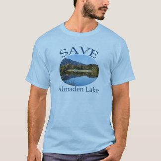 Die große T der Männer mit Website auf Rückseite T-Shirt