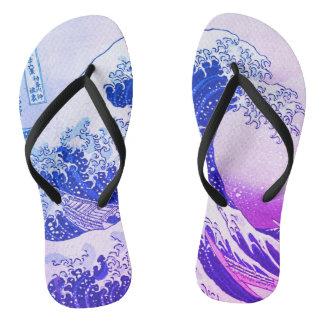 Die große Welle Flip Flops
