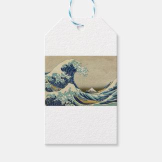Die große Welle Kanagawa Geschenkanhänger