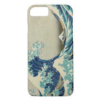 Die große Welle weg vom Kanagawa-Telefon-Kasten iPhone 8/7 Hülle