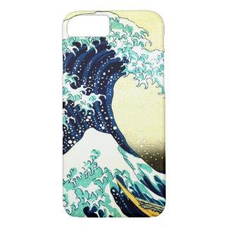 Die große Welle weg von Kanagawa (神奈川沖浪裏) iPhone 8/7 Hülle
