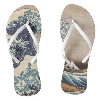 Die große Welle weg von Kanagawa Flip Flops