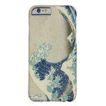 Die große Welle weg von Kanagawa Barely There iPhone 6 Hülle
