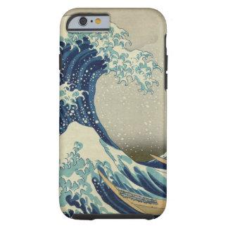 Die große Welle weg von Kanagawa Tough iPhone 6 Hülle
