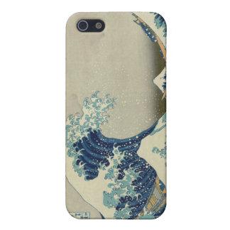 Die große Welle weg von Kanagawa iPhone 5 Schutzhülle
