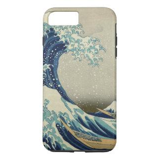Die große Welle weg von Kanagawa iPhone 8 Plus/7 Plus Hülle