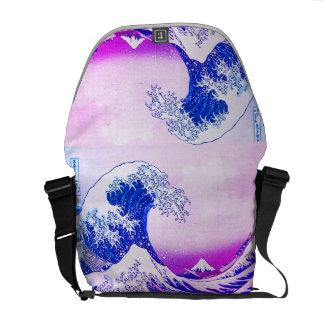 Die große Welle weg von Kanagawa Kurier Tasche