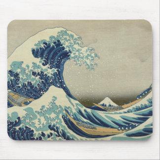 Die große Welle weg von Kanagawa Mauspads